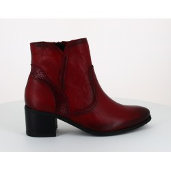 Bottines FUGITVE Rouge